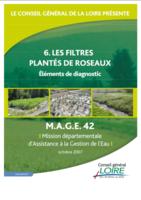 Les Filtres Plantés de Roseaux – Eléments de diagnostic