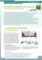 Les filtres plantés de roseaux en PACA – Dossier Technique de l'ARPE