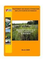 Traitement des boues 2009 Departement Bas-Rhin
